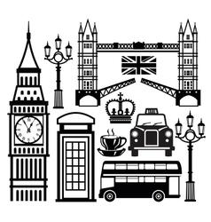 London icon vector