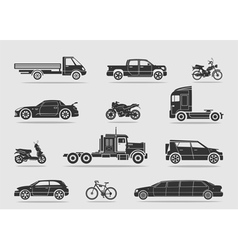 Set of transport vector