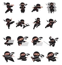 Ninja time vector
