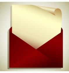 Tag in envelope vector