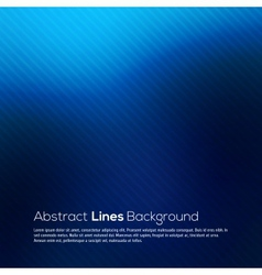 Blue abstract lines business background vector