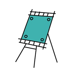 Icon easel vector