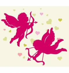 Valentine's day cupid vector