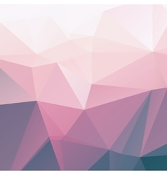 Polygonal abstract background vector