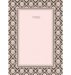 Pattern and border vector