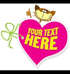 Valentine tag vector
