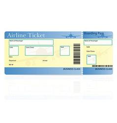 Airline ticket 03 vector