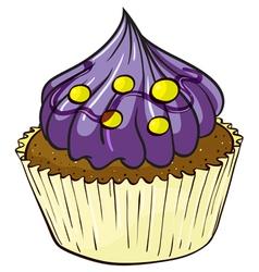 A cupcake vector
