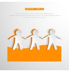 Togetherness concept  people vector