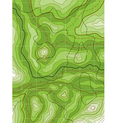 Topographical map vector