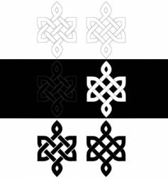 Celtic knot vector