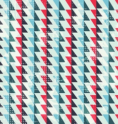 Zigzag lines seamless pattern vector