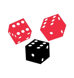 Dice game vector