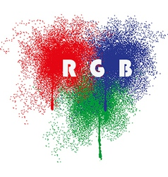 Rgb splatter vector