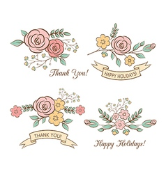 Holiday graphics set vector