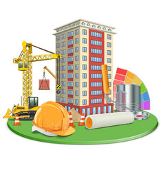 Living block construction vector