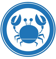 Crabs logo vector