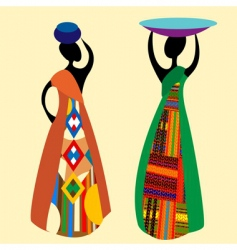 Traditional african vector