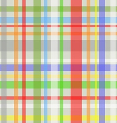 Seamless plaid pattern-grey vector