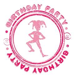 Birthday party vector