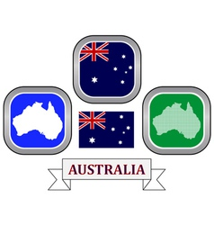 Symbol of australia vector