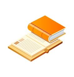 Icon books vector