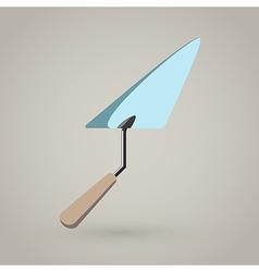 Trowel spatula icon vector