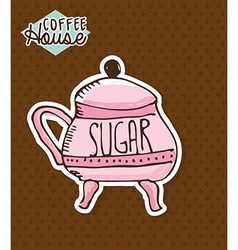 Sugar design vector