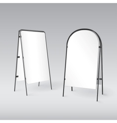 Sandwich board isolated - 3d vector