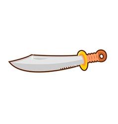 Dagger cartoon vector