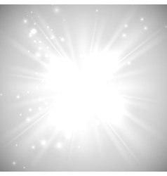 Bright flash explosion or burst vector