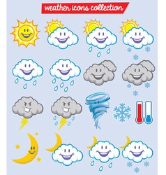 Weather characters vector