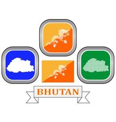 Symbol of bhutan vector