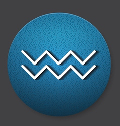 Water resources icon vector