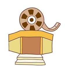 The cinema vector