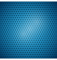Abstract blue dotted steel - plastic background vector