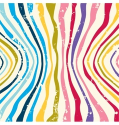 Hippie colorful striped pattern background vector