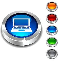 Notebook 3d button vector