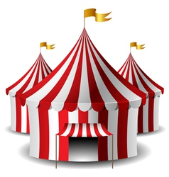 Circus tent vector