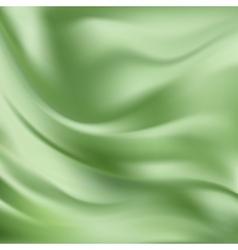 Abstract texture green silk vector
