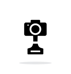 Slr photo award simple icon on white background vector