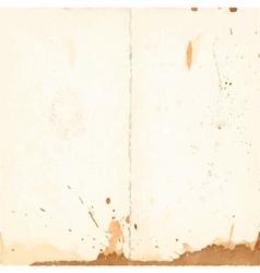 Vintage sheet of paper vector
