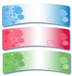 Set of banners 6 vector