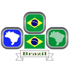 Symbol of brazil vector