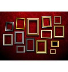 Photo picture frames vintage vector