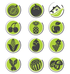 Organic icon set volume 2 vector