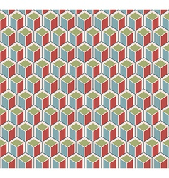Color cubes pattern vector