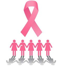 Breast cancer rally vector