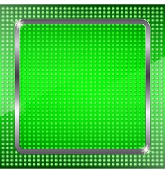 Green fluorescent background vector