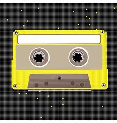 Pixel art cassette vector